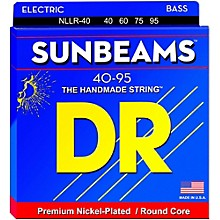 DR Strings SUNBEAM  Nickel Plated Bass Strings Lite (40-95)