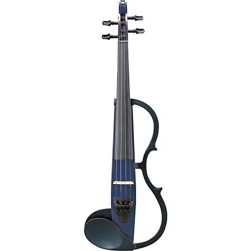 Yamaha SV-130 Series Silent Electric Violin - Instrument Only Navy Blue Instrument Only