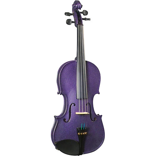 Cremona SV-130PP Series Sparkling Purple Violin Outfit-thumbnail