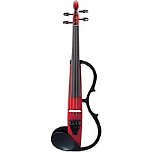 Yamaha SV-130S Concert Select Silent Violin Outfit Candy Apple Red Outfit