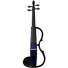 Yamaha SV-130S Concert Select Silent Violin Outfit Navy Blue Outfit