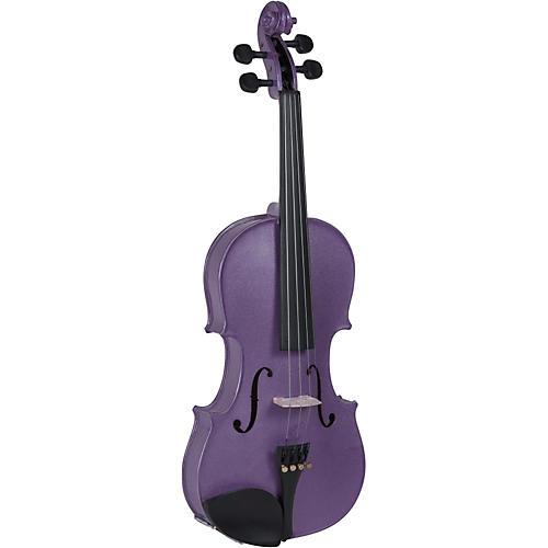 Cremona SV-130VL Series Sparkling Violet Violin Outfit-thumbnail