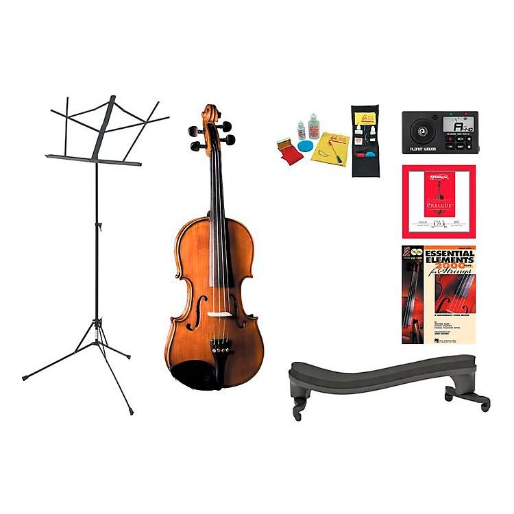 CremonaSV-175 Beginner Student 1/4 Violin Bundle