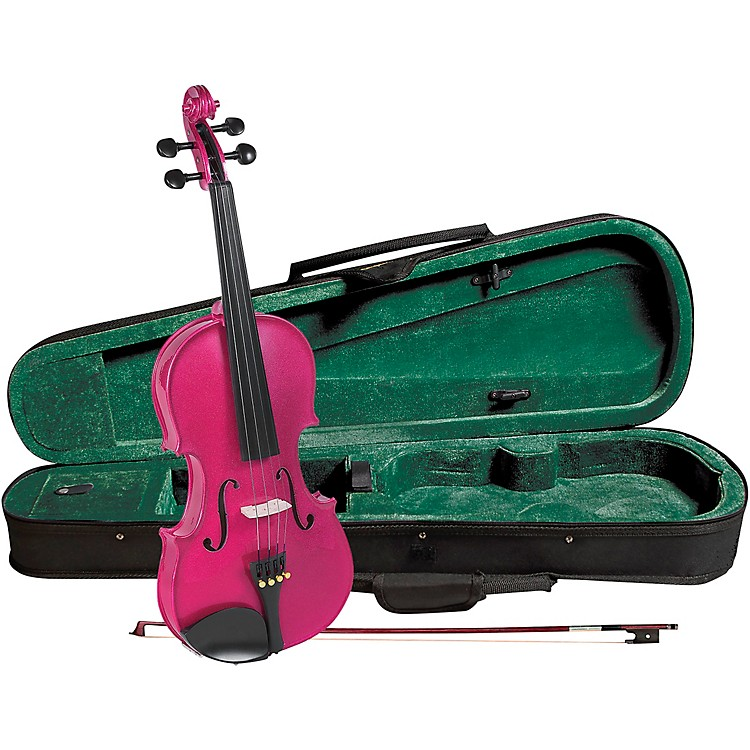 Cremona SV-75RS Premier Novice Series Sparkling Rose Violin Outfit 1/2 Outfit