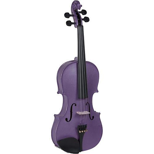 Cremona SV-75VL Premier Novice Series Sparkling Violet Violin Outfit-thumbnail
