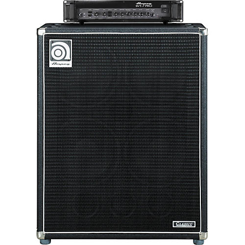 Ampeg SVT-7PRO Head and SVT-410HLF Cabinet Bass Stack