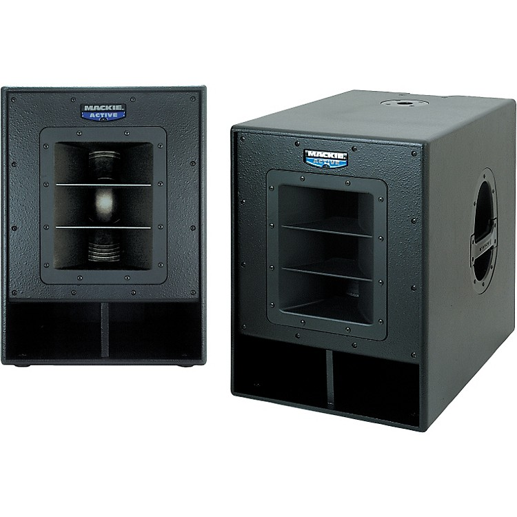 mackie swa1501 active subwoofer system pair musician 39 s friend. Black Bedroom Furniture Sets. Home Design Ideas