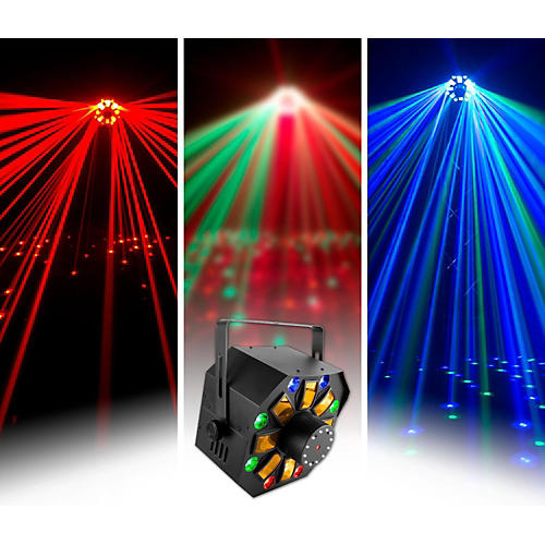 CHAUVET DJ SWARMWASHFX Stage Laser with LED Lighting Effect and Strobe Light