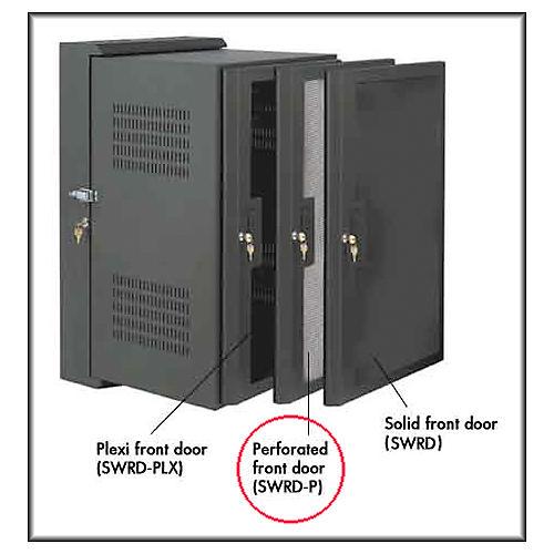 Raxxess SWRD-24P Perforated Door for SWR-24-12 rack