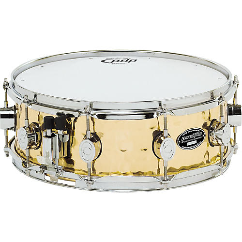 PDP by DW SX Series Hammered Brass Snare Drum