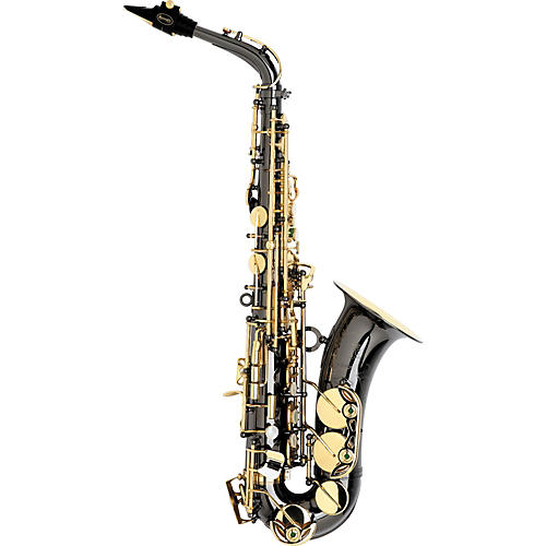 Keilwerth SX90R Black Nickel Model Professional Alto Saxophone Black Nickel with Gold Lacquer Keys