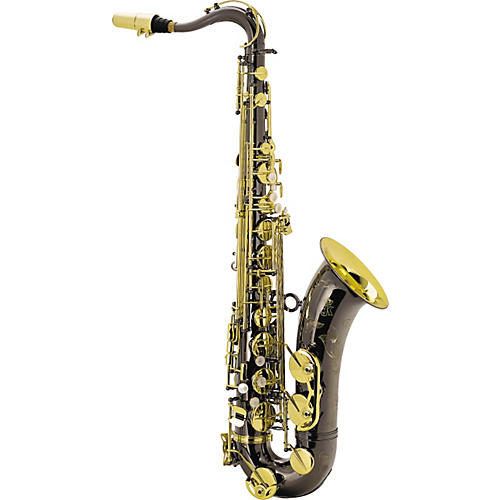 Keilwerth SX90R Black Nickel Model Professional Tenor Saxophone Black Nickel with Gold Lacquer Keys
