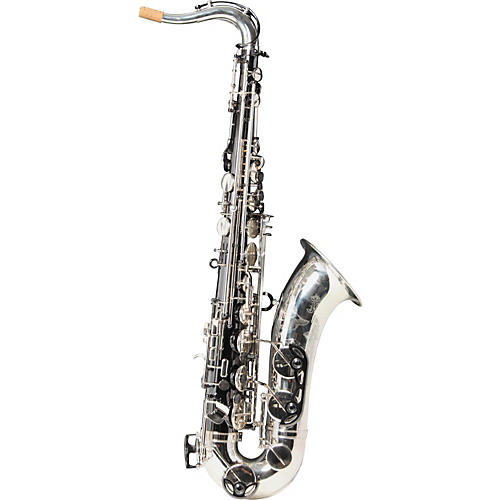 Keilwerth SX90R Black Nickel and Silver Model Professional Tenor Saxophone-thumbnail