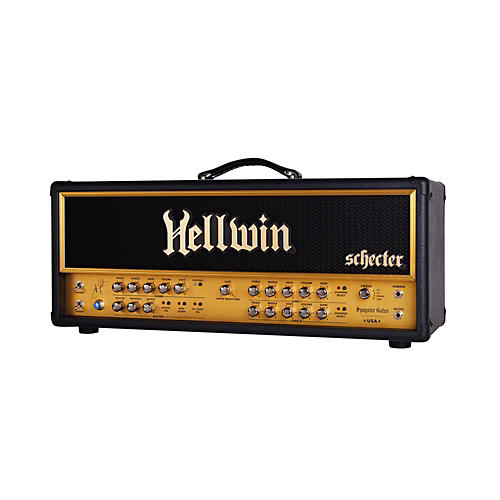 Schecter Guitar Research SYN100-HE Hellwin Stage 100W Tube Guitar Amp Head