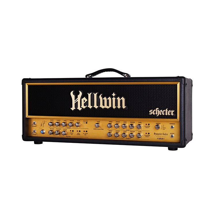 Schecter Guitar ResearchSYN100-HE Hellwin Stage 100W Tube Guitar Amp HeadBlack