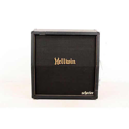 Schecter Guitar Research SYN412-SL Hellwin USA 4x12 Slant Guitar Speaker Cabinet-thumbnail