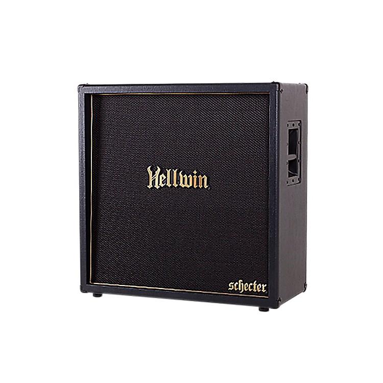 Schecter Guitar ResearchSYN412-ST Hellwin USA 4x12 Straight Guitar Speaker CabinetBlack