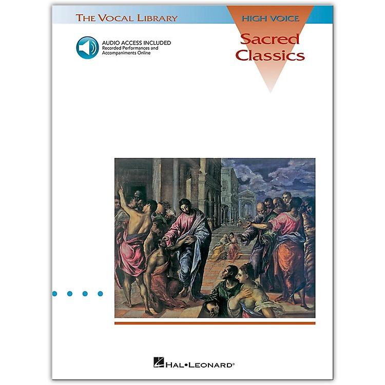 Hal LeonardSacred Classics for High Voice Book/CD