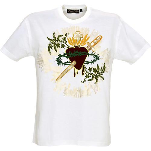 Edward Dada Sacred Heart Zardozi T-Shirt-thumbnail