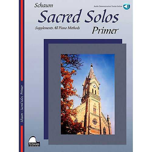 SCHAUM Sacred Solos (Primer) Educational Piano Book with CD-thumbnail