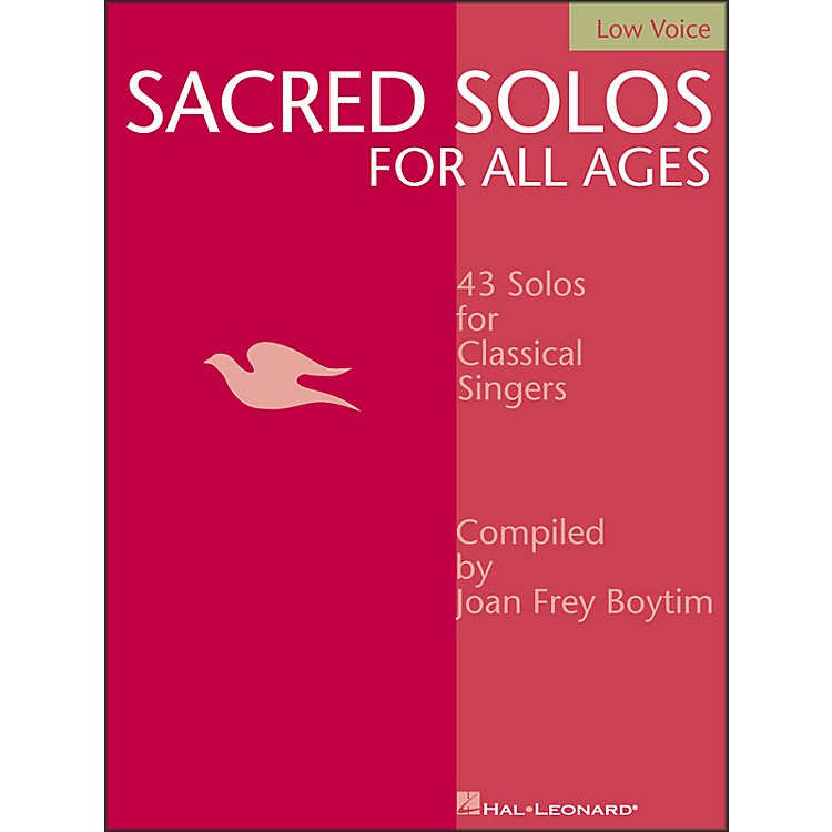 Hal LeonardSacred Solos for All Ages for Low Voice