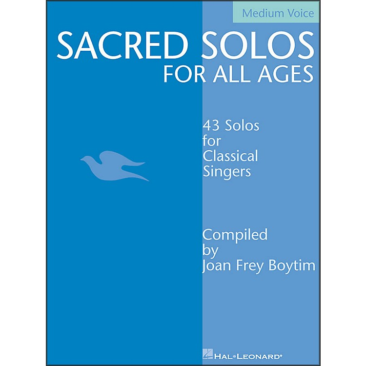 Hal LeonardSacred Solos for All Ages for Medium Voice