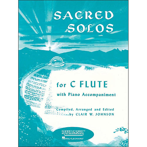 Hal Leonard Sacred Solos for C Flute with Piano-thumbnail