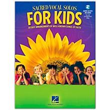Hal Leonard Sacred Vocal Solos For Kids Book/Online Audio