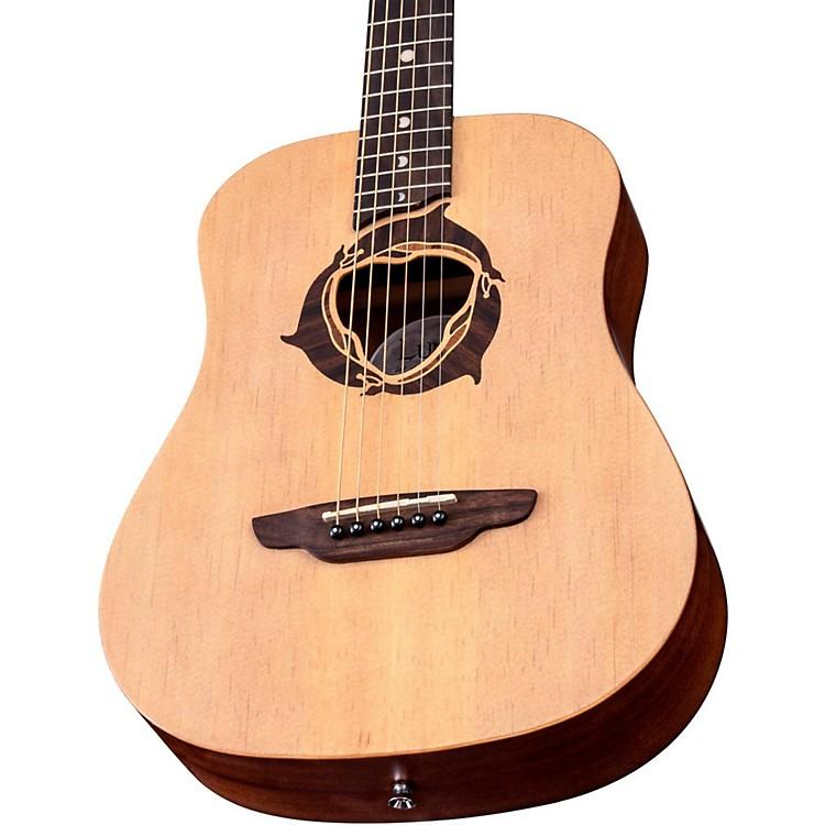 Luna GuitarsSafari Dolphin 3/4 Size Travel Acoustic Guitar