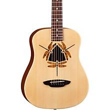 Open BoxLuna Guitars Safari Dragonfly 3/4 Size Travel Acoustic Guitar