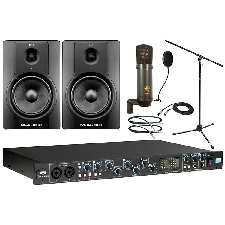 FocusriteSaffire Pro 40 MXL Package