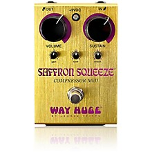 Way Huge Electronics Saffron Squeeze Compressor Guitar Effects Pedal