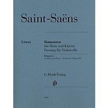 G. Henle Verlag Saint-Saëns - Romances for Horn and Piano Henle Music by Saint-Saëns Edited by Dominik Rahmer