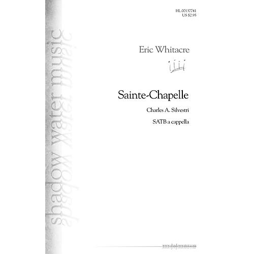 Hal Leonard Sainte-Chapelle SSATB A Cappella composed by Eric Whitacre-thumbnail