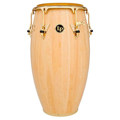 LP Salsa Conga Natural with Gold Hardware 11 Inch