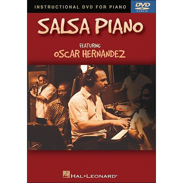 Hal LeonardSalsa Piano DVD - Featuring Oscar Hernandez
