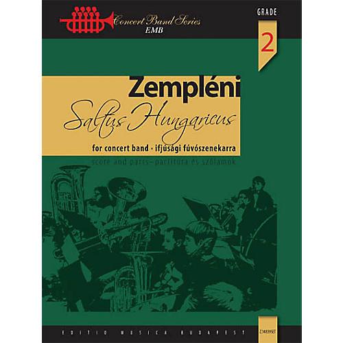 Editio Musica Budapest Saltus Hungaricus Concert Band Level 2 Composed by László Zempléni-thumbnail