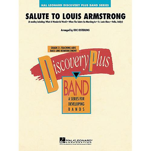 Hal Leonard Salute to Louis Armstrong - Discovery Plus Concert Band Series Level 2 arranged by Eric Osterling-thumbnail