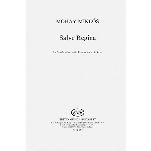 Editio Musica Budapest Salve Regina SSA A Cappella Composed by Miklós Mohay-thumbnail