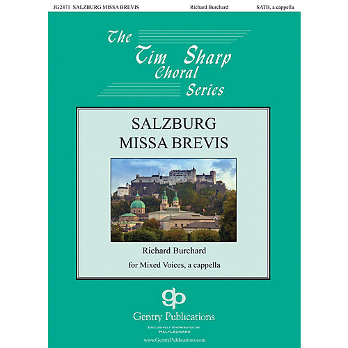 Gentry Publications Salzburg Missa Brevis SATB a cappella composed by Richard Burchard-thumbnail