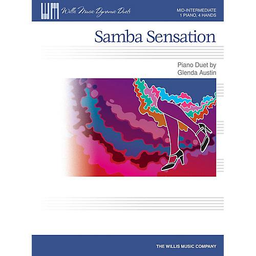 Willis Music Samba Sensation Willis Series by Glenda Austin (Level Mid-Inter)-thumbnail