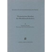G. Henle Verlag Sammlung Proske, Manuskripte des 18. und 19. Jahrhunderts aus den Signaturen A.R., C, AN Henle Books