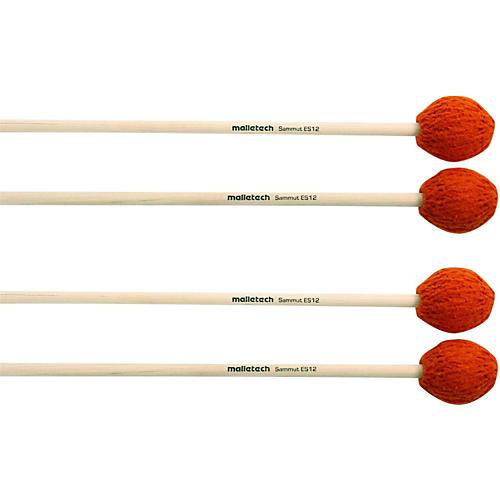 Malletech Sammut Marimba Mallets Set of 4 (2 Matched Pairs) 12