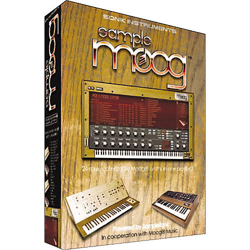 IK Multimedia SampleMoog Virtual Instrument