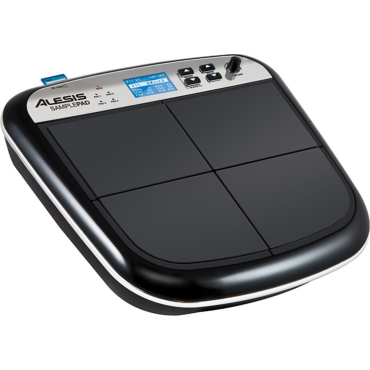 Alesis SamplePad Percussion Instrument Sampling Pad Black