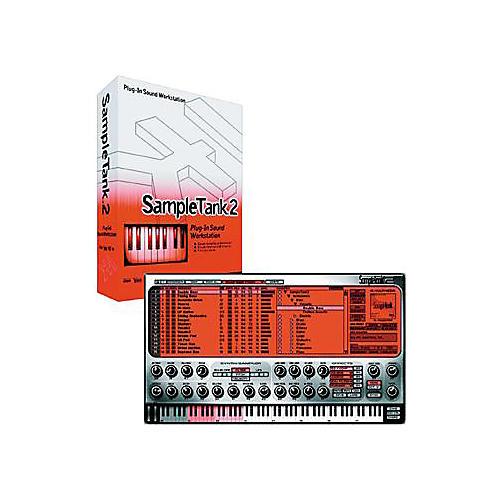 IK Multimedia SampleTank 2 L Virtual Instrument Software