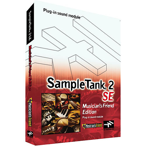 IK Multimedia SampleTank 2 SE Sample Workstation and Plug-In Sound Module - Musicians Friend Edition-thumbnail
