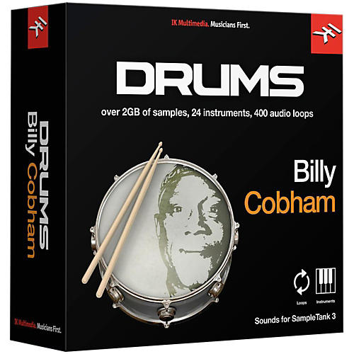IK Multimedia SampleTank 3 Instrument Collection - Billy Cobham Drums-thumbnail
