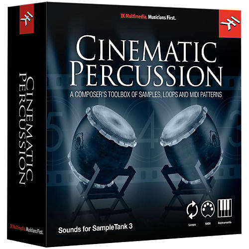 IK Multimedia SampleTank 3 Instrument Collection - Cinematic Percussion