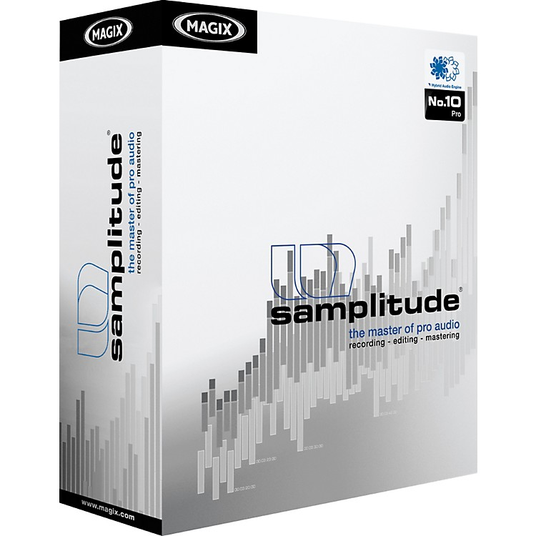 Magix Samplitude 10 Pro Software